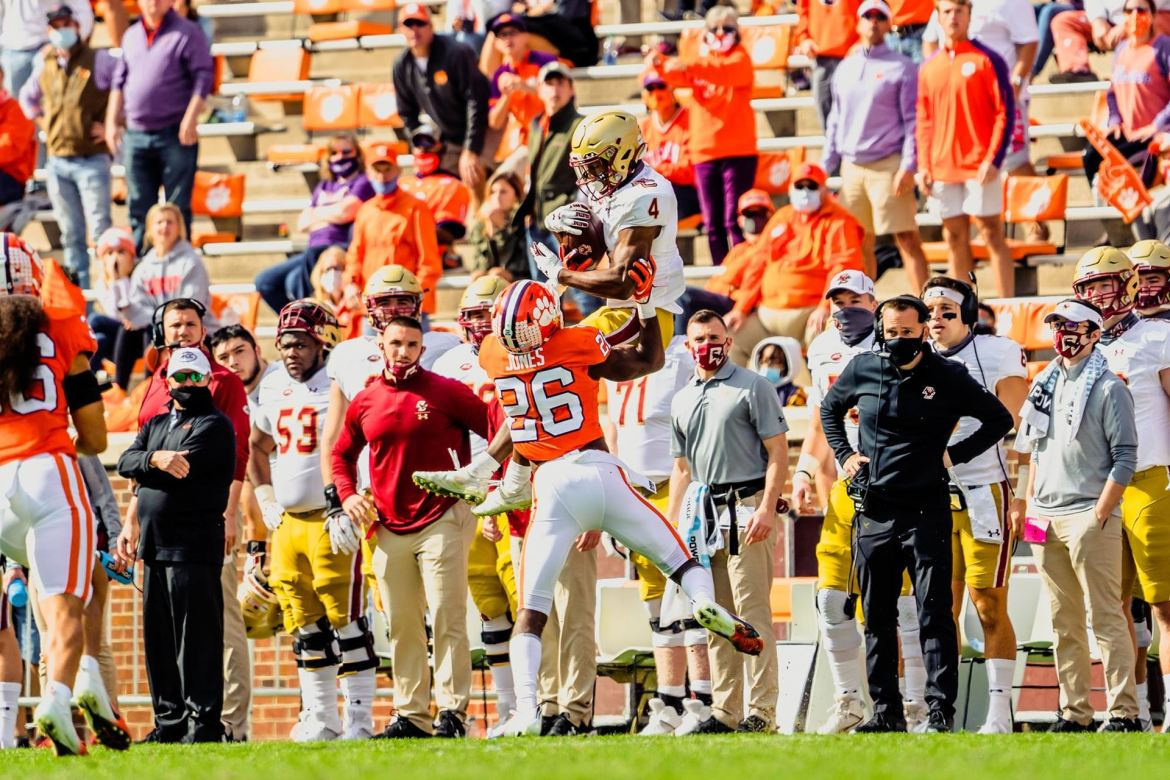 Boston College Scares The Daylight Out Of Clemson