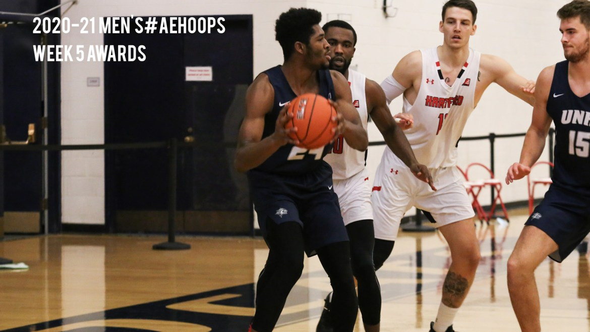 Stony Brook & UNH Sweep, NJIT Stuns in Men's #AEHoops Action
