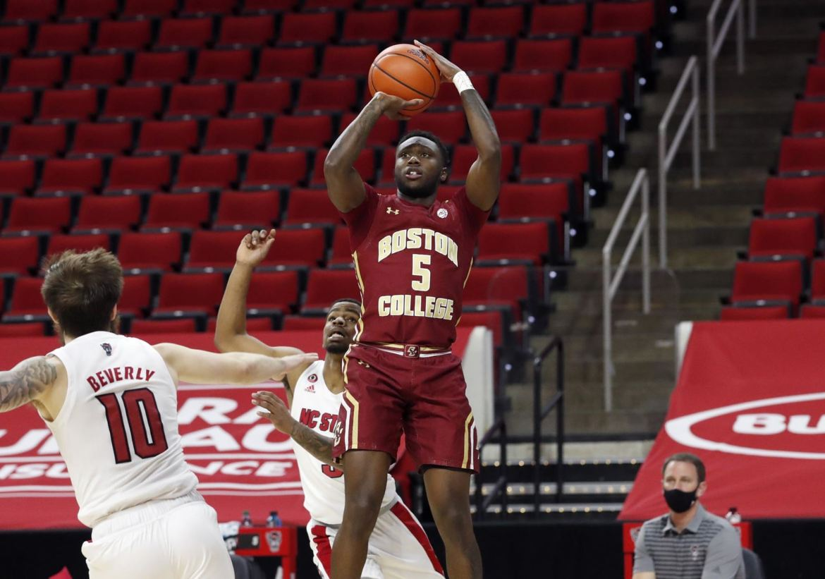 Boston College Eagles Come Up Short at N.C. State, 79-76