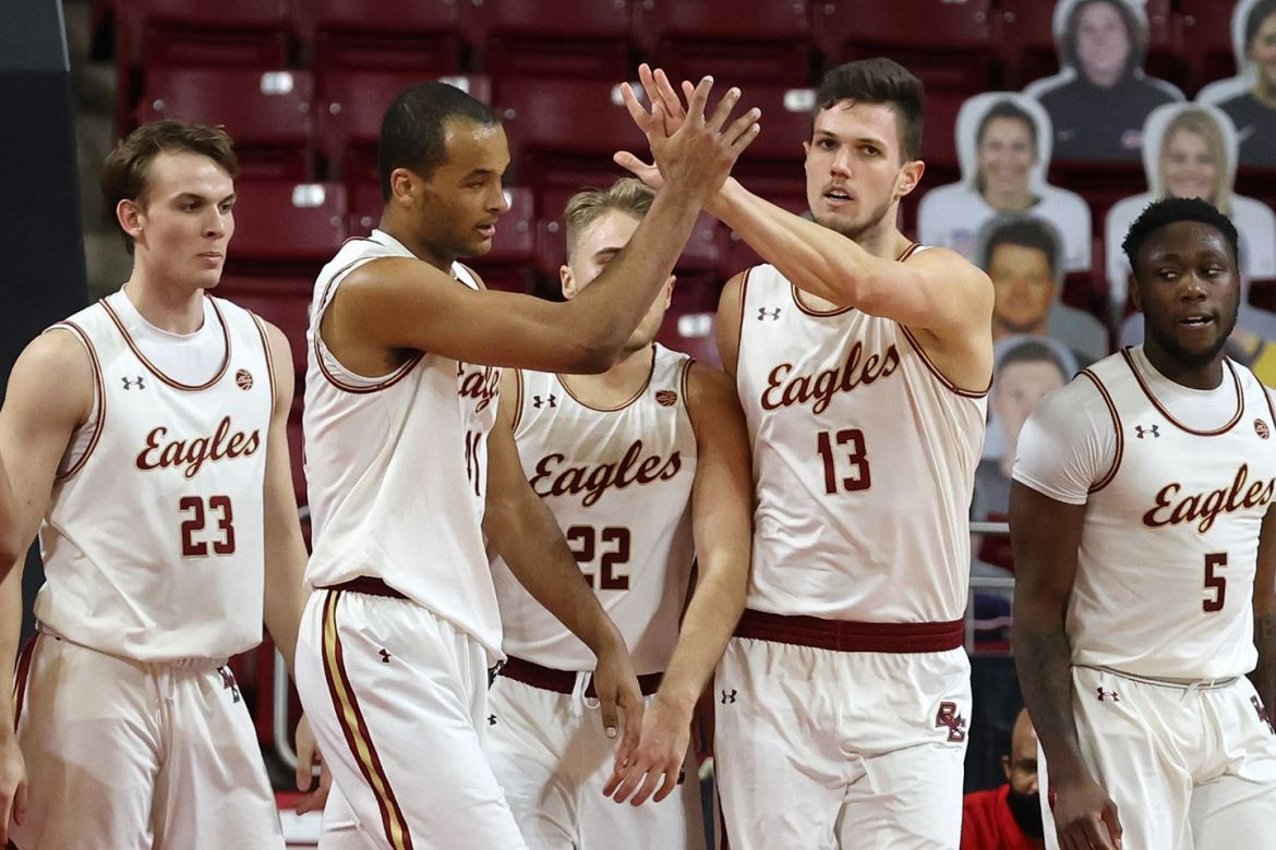 Resilient Eagles Continue to Battle; Host Wake Forest on Wednesday