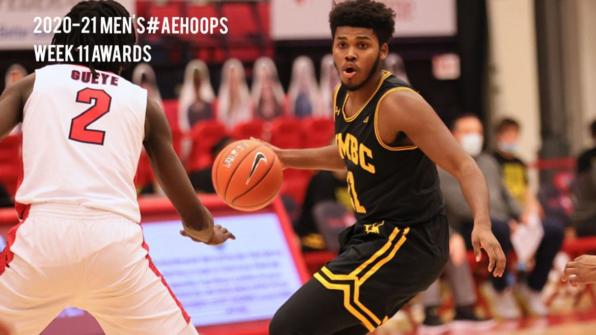 UMBC Men Take over First Place in #AEHoops Standings