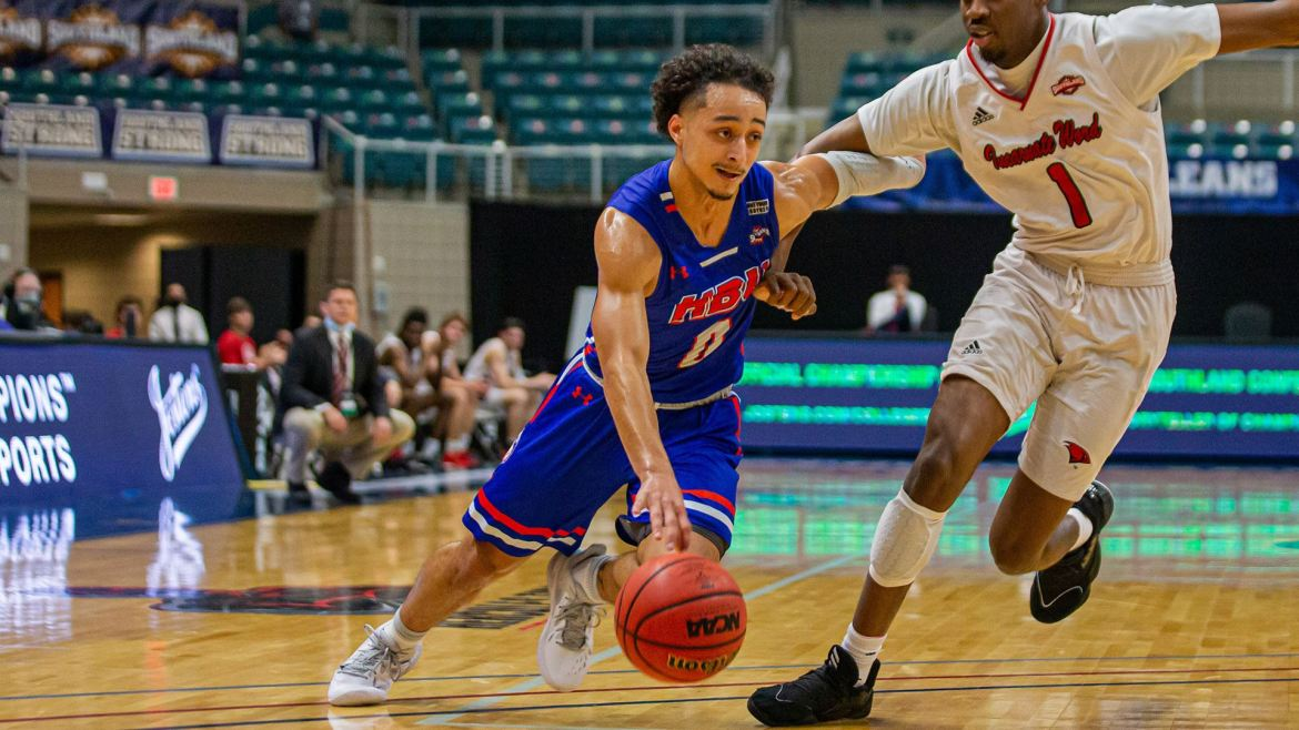 HBU Huskies Pull Away in Second Half to Advance at SLC Tourney