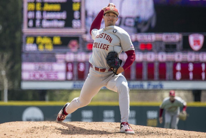 Boston College Baseball: Pelio, Eagles Win Series Opener at Va. Tech