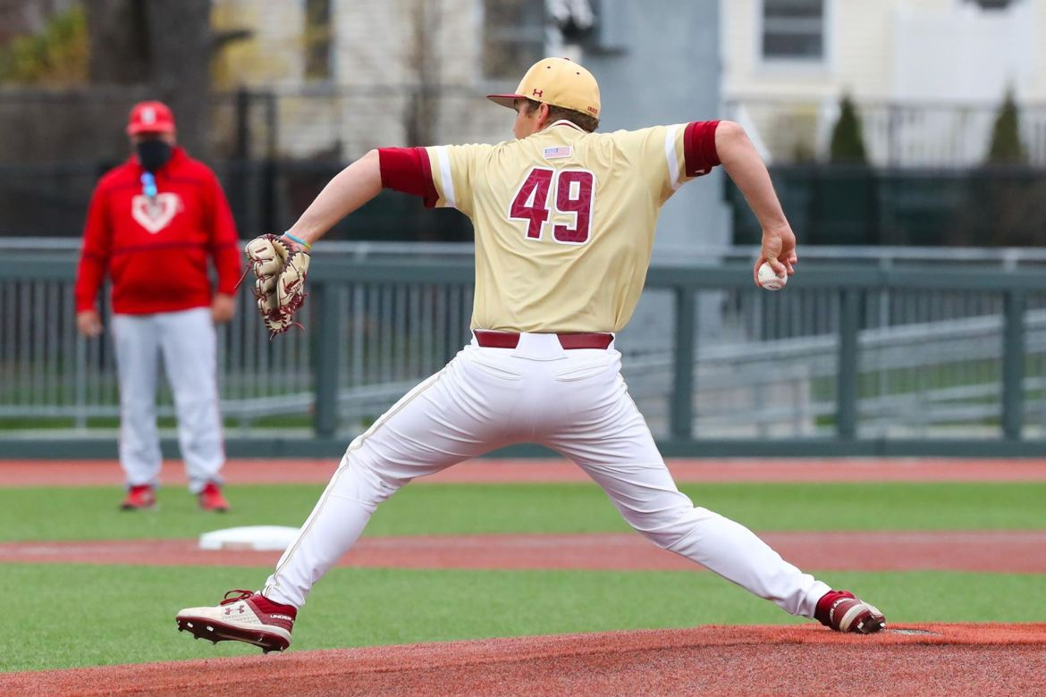 Boston College Eagles on Short End of Pitcher's Duel