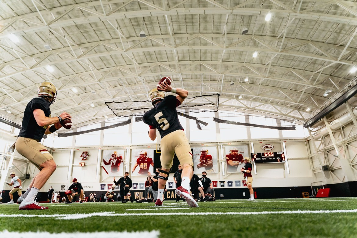 BC Spring Football Blog #5: Final practice prior to Easter on Wednesday