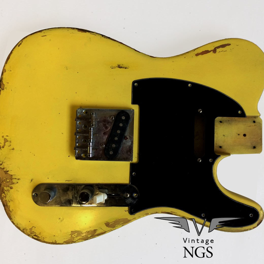 NGS Yellow relic Telecaster