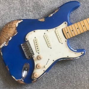Blue fender stratocaster master relic NGS Guitars UK