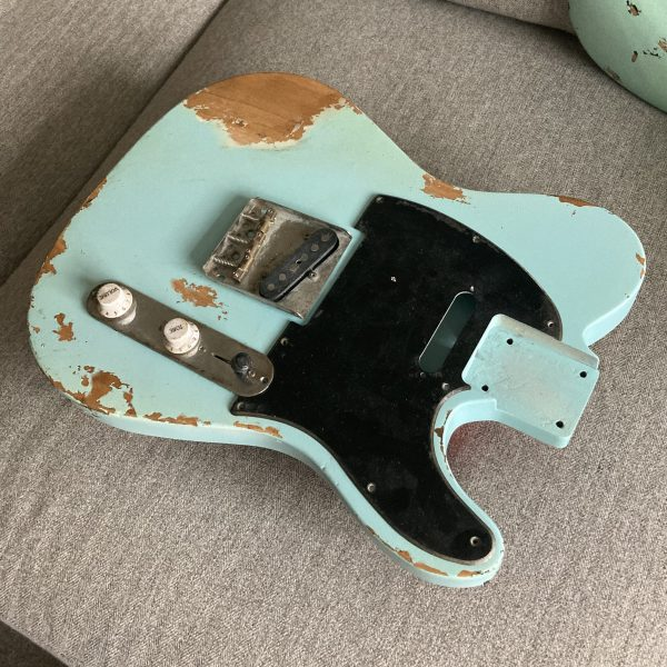 Daphne Blue telecaster body NGS