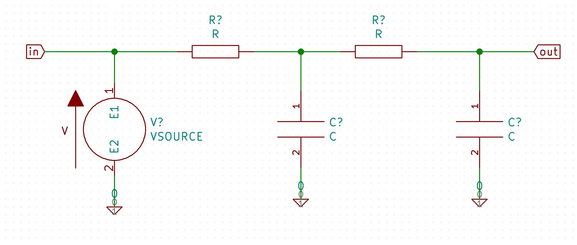 hight resolution of rc circuit w o data