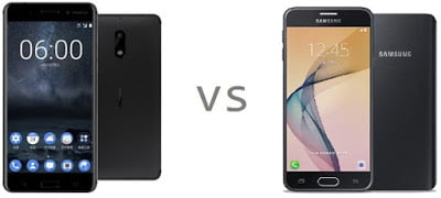 nokia 6 vs Samsung Galaxy J7 Prime