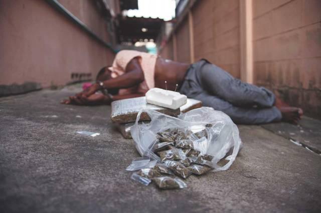 ชาวแอฟริกันในไทย, ยาเสพติด, จับกุม