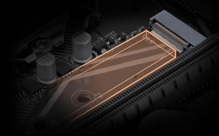 Khe SSD NVMe (M.2 PCIe)