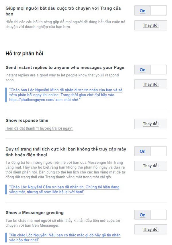 Hướng dẫn cài đặt Facebook Messenger Chat vào website WordPress
