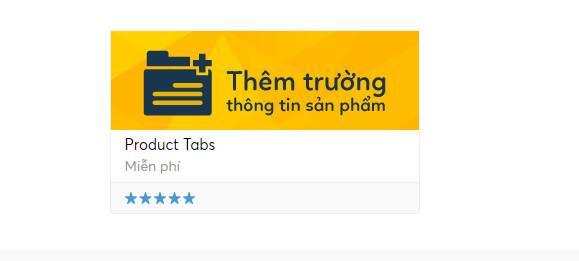 Product Tabs Haravan App