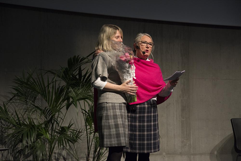 Margretha Tveisme (t.v.) og Lise Holsen (t.h) - Foto Christina Nieuwlaat