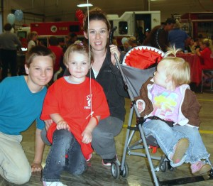 family-at-open-house