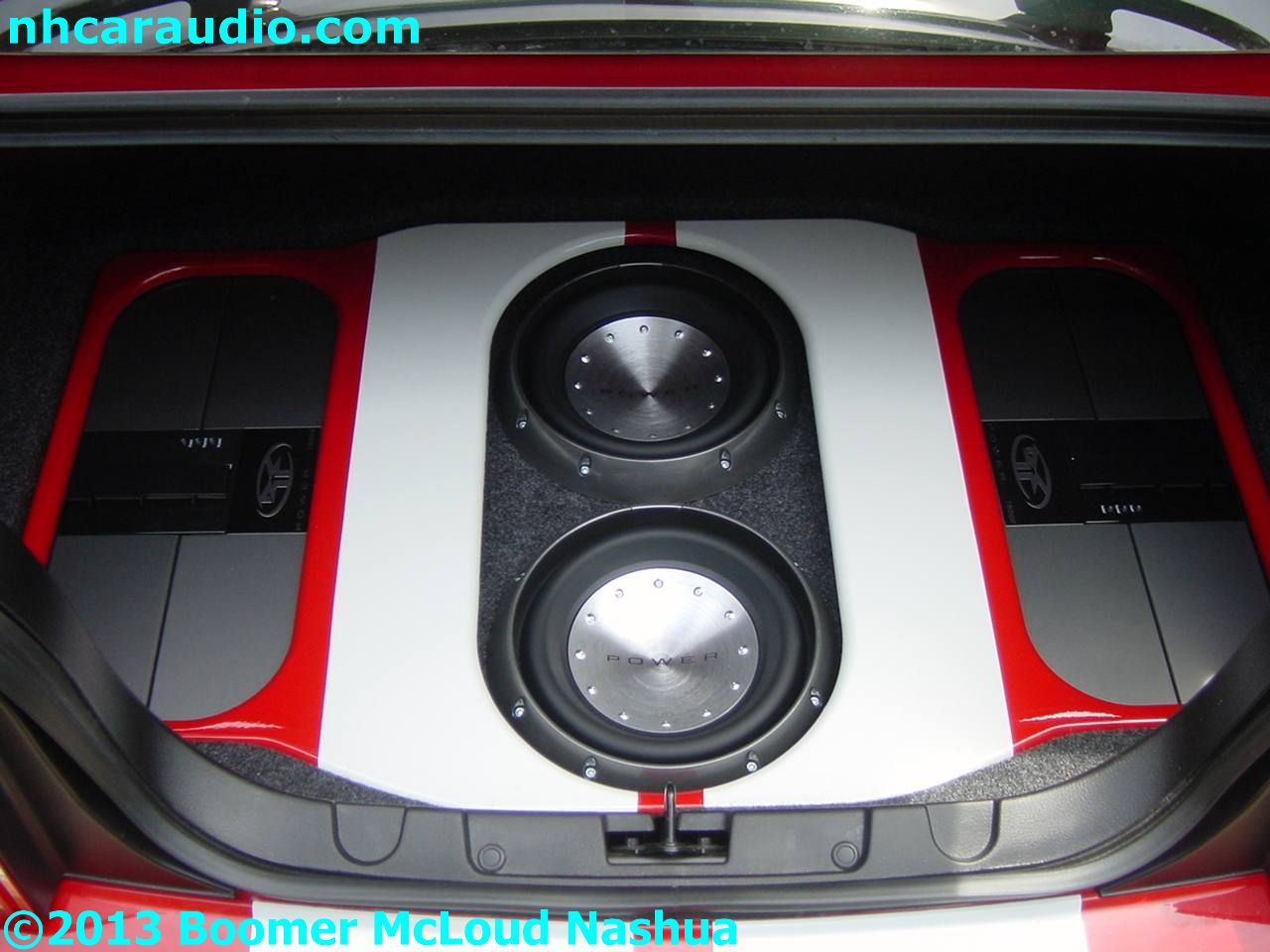 2013 Nissan Frontier Stereo Wiring Mustang Custom Trunk Subwoofer Amplifier Install