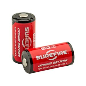 SureFire 12 Ct Sf123A Batteries Clamshell Package