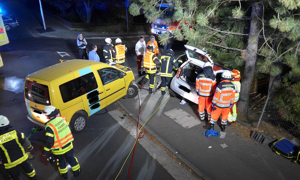 Unfall Kassel Gestern