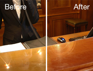 Commercial Wood Refinishing