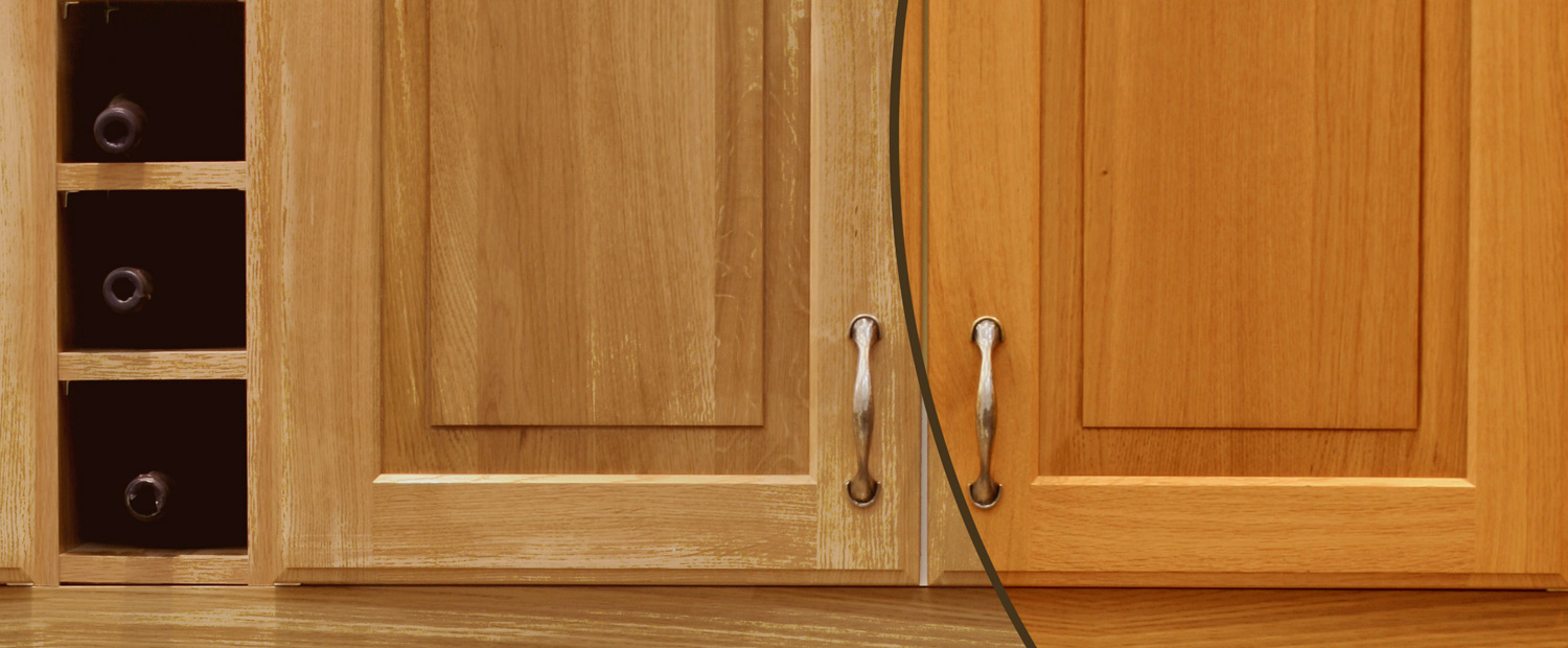 Nh-Hance Cabinet Color Shift