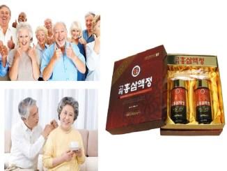Cao hồng sâm dinh dưỡng cho người lớn tuổi