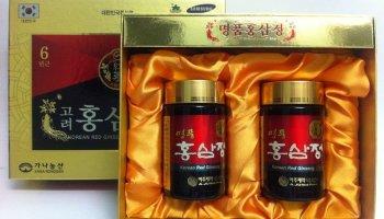 Tìm hiểu về cao hồng sâm Hàn Quốc