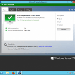 Antivirus – Microsoft Security Essentials In Windows Server 2012 R2