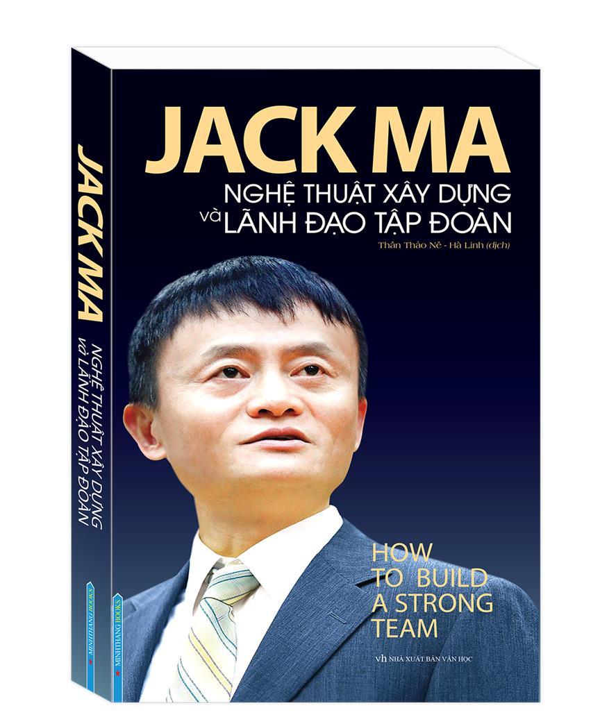 Sách mới của Jack Ma ra mắt ở Việt Nam
