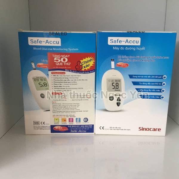 Safe Accu máy đo đường huyết SinoCare Đức