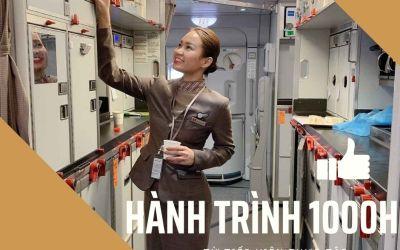 1000 giờ bay từ tiếp viên thực tập đến tiếp viên trưởng