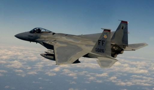 F-15 Eagle - phi đoàn 71 - bay tuần tiễu trên không phận Washington DC ngày 07/10/10