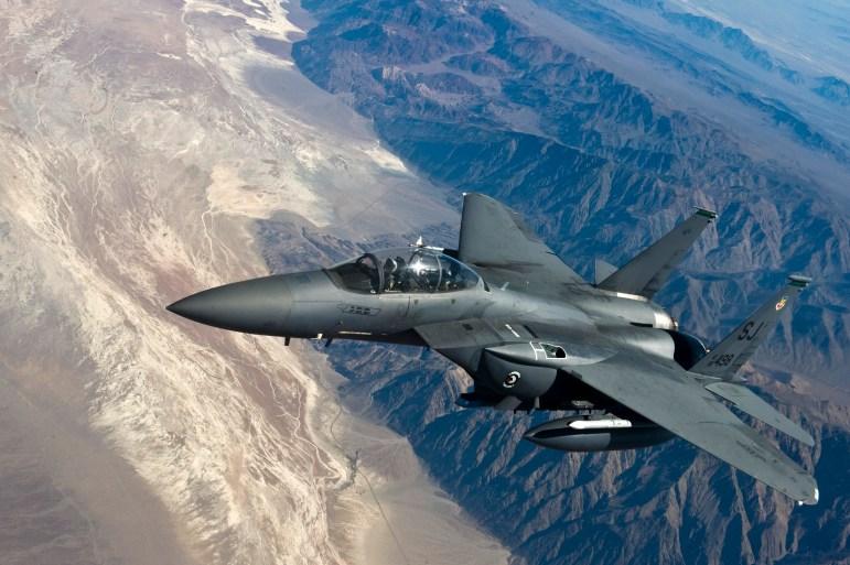 F-15 Strike Eagle, phi đoàn 335, căn cứ Seymour Johnson
