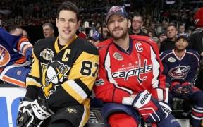Crosby (PIT) e Ovechkin (WSH)