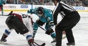 San Jose Sharks vence disputa com Colorado Avalanche, liderando a série por 3-2