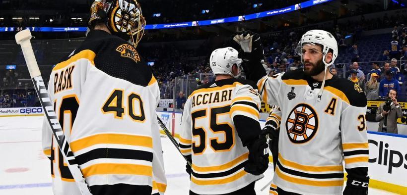 Boston assume a liderança na Stanley Cup Final