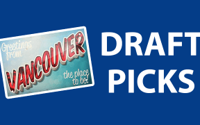 Qual pick no draft 2019 em Vancouver você seria?
