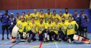 Time brasileiro de hockey inline no World Roller Games