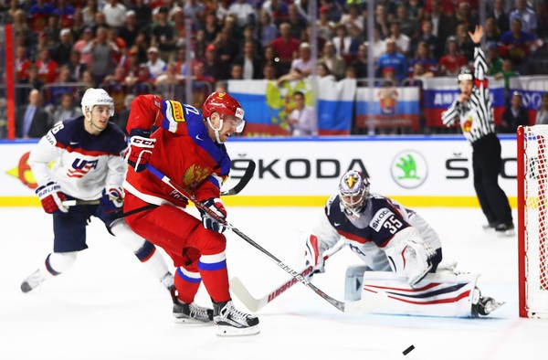 Yevgeni Kuznetsov suspenso