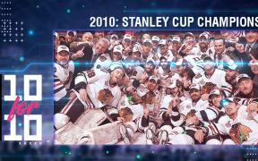 10 for 10: Blackhawks campeões da Stanley Cup em 2010