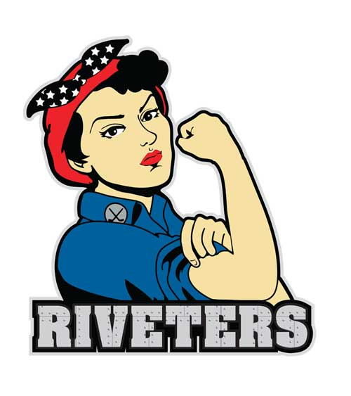 Logo do Metropolitan Riveters da NWHL