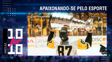 Sidney Crosby com a Stanley Cup na final 2016-17