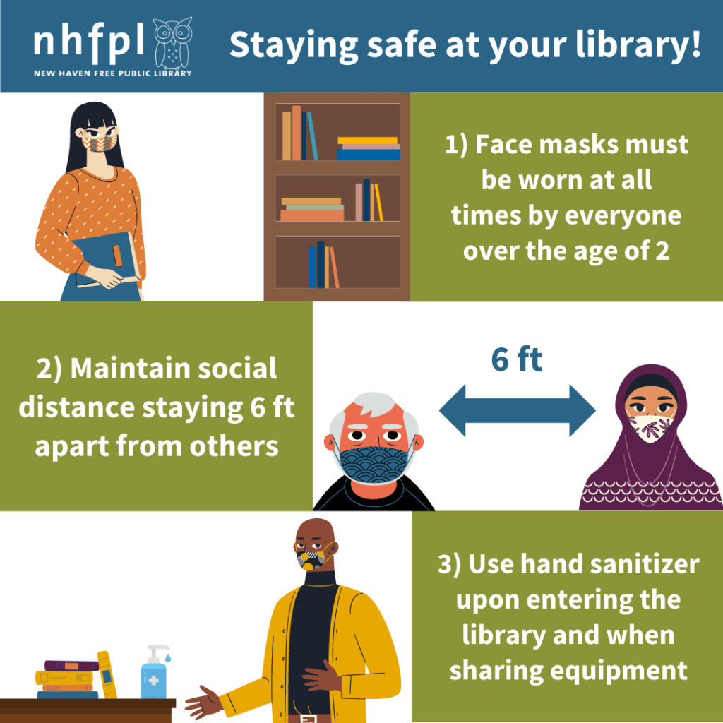 Stay Safe at Your Library