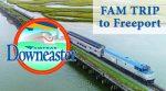 AMTRAK Downeaster FAM Tour - Exeter to Freeport
