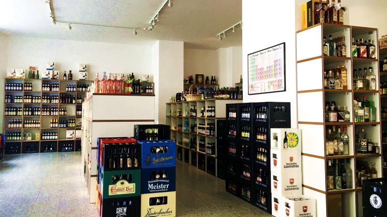 Nhi extern: Über die Getränkefeinkost