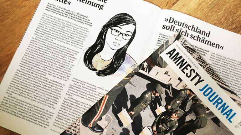 Über Exotisierung für Amnesty Journal
