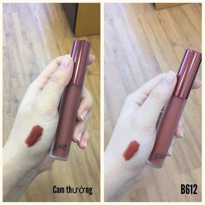 Review Son Kem Lì BBIA Velvet Lip Tint version 5 - Màu 25 Final Note