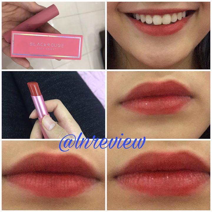 [Review] Son Lì Black Rouge Rose Velvet Lipstick