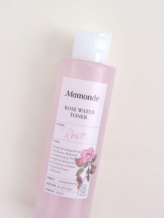 Review nước hoa hồng Mamonde Rose Water Toner