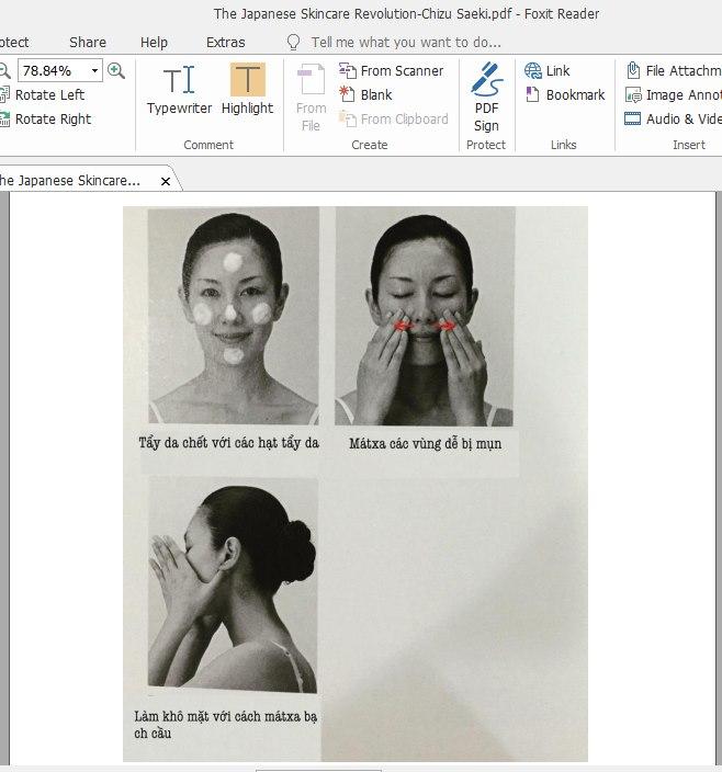 Thánh kinh dưỡng da PDF khác xa so với bản sách giấy đang bán